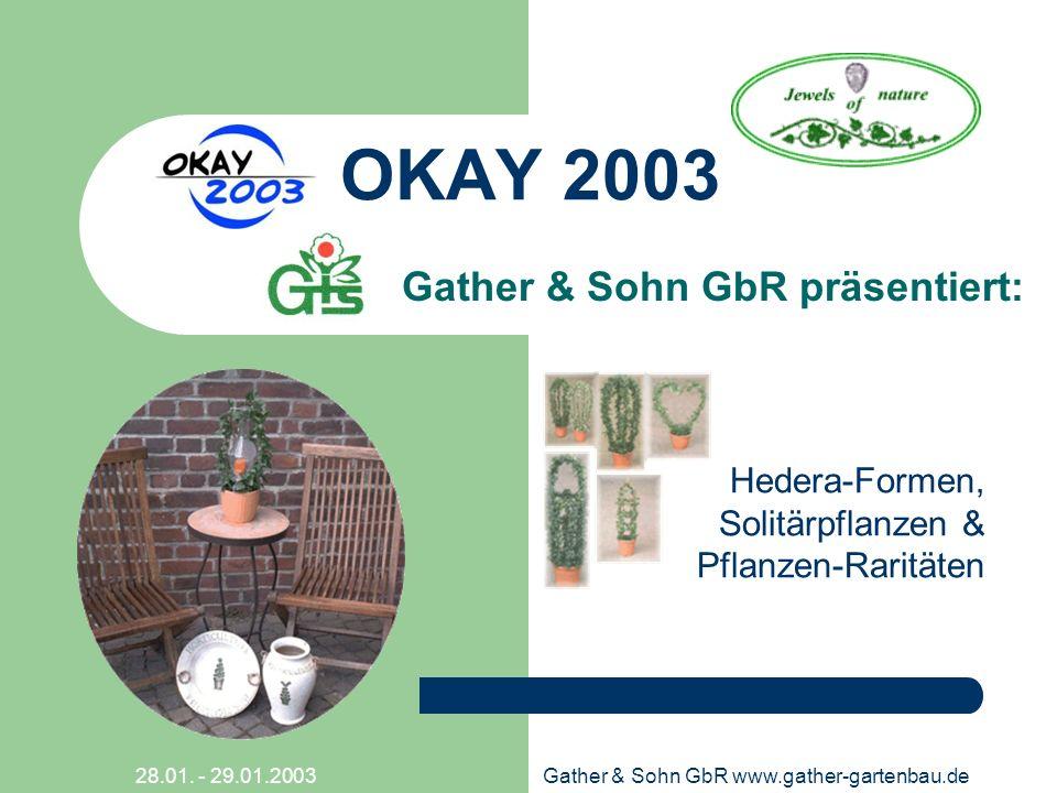 Gather & Sohn GbR präsentiert:
