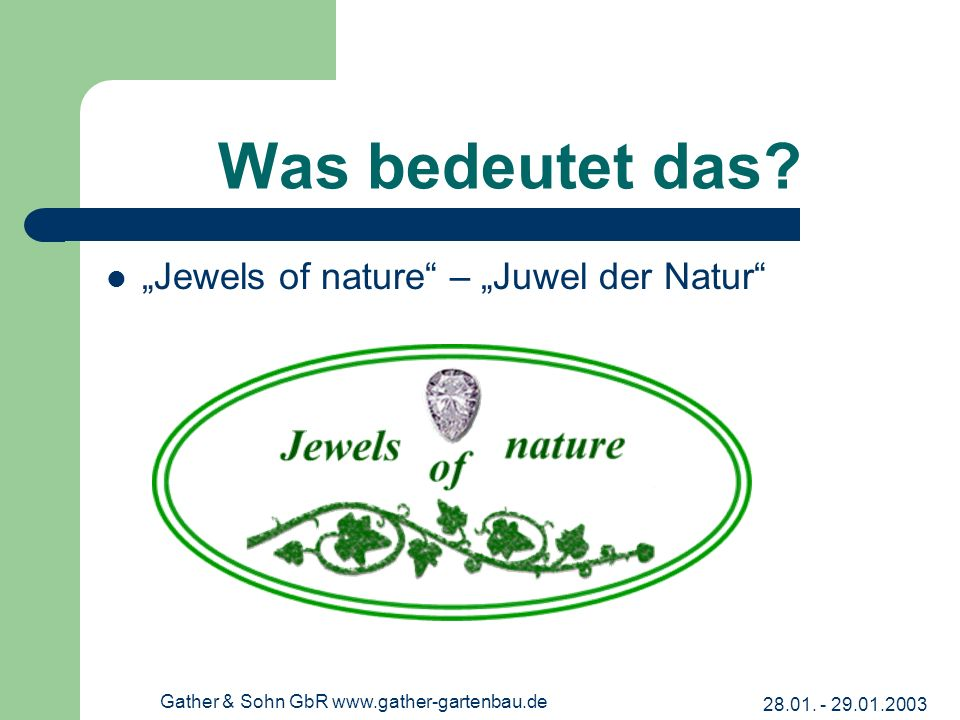 Gather & Sohn GbR www.gather-gartenbau.de