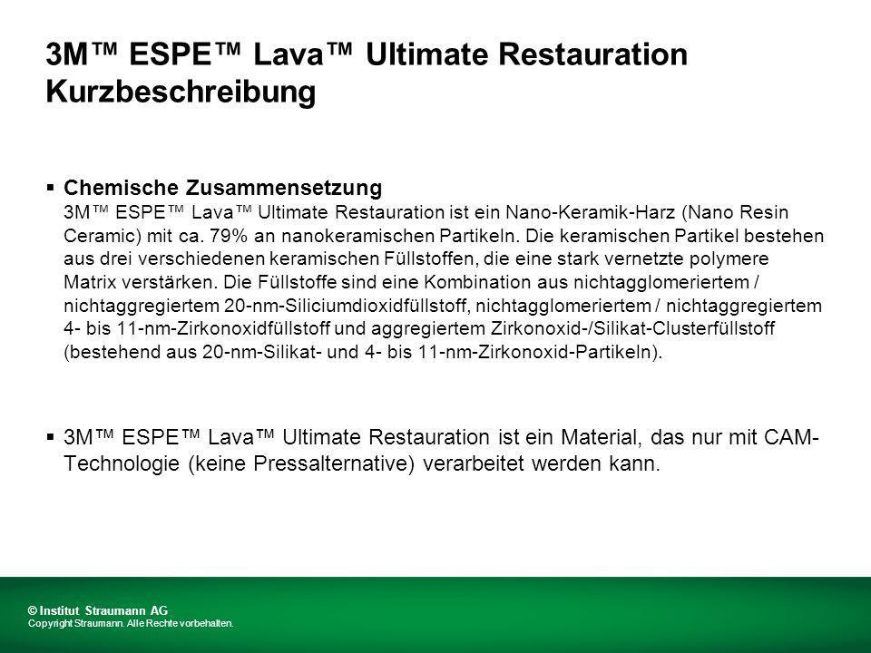 3M™ ESPE™ Lava™ Ultimate Restauration Kurzbeschreibung
