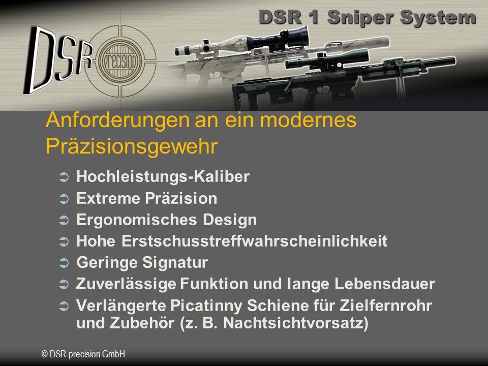 Anforderungen an ein modernes Präzisionsgewehr