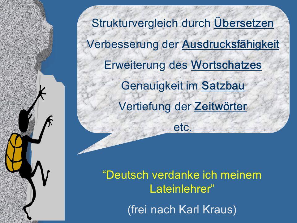 Strukturvergleich durch Übersetzen Verbesserung der Ausdrucksfähigkeit