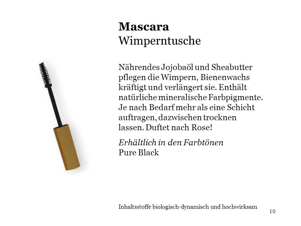 Mascara Wimperntusche