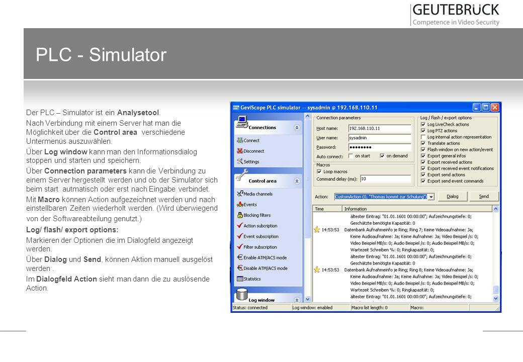 PLC - Simulator