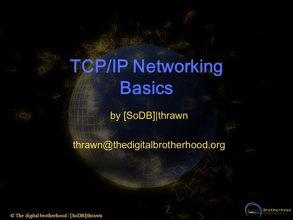 TCP/IP Networking Basics