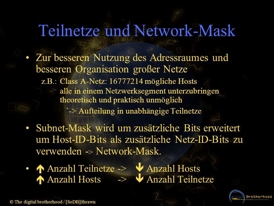 Teilnetze und Network-Mask