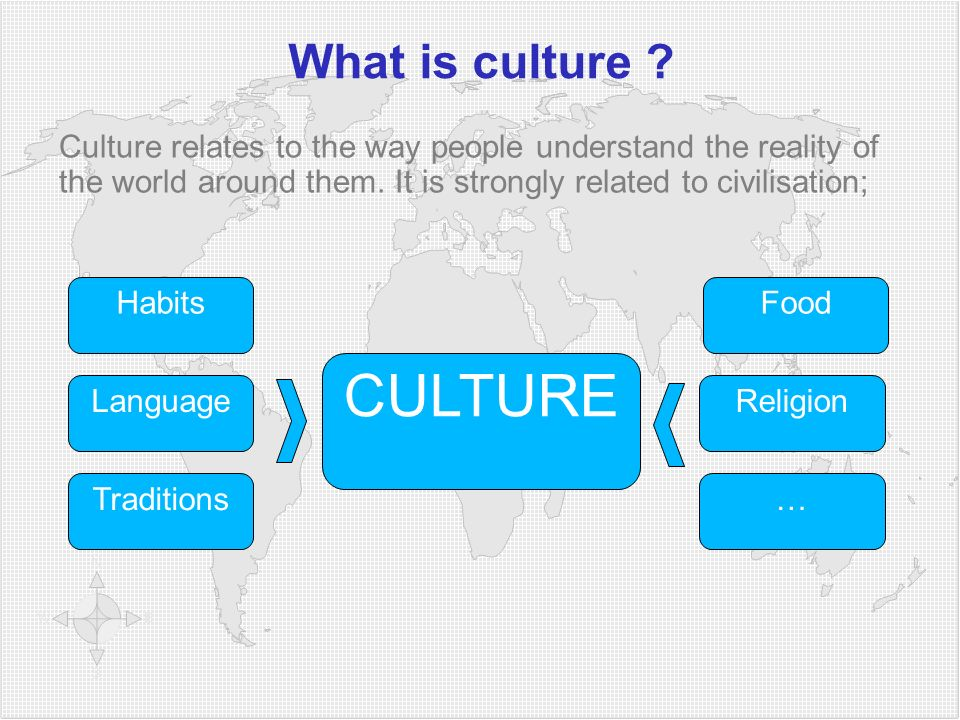 CULTURE What is culture