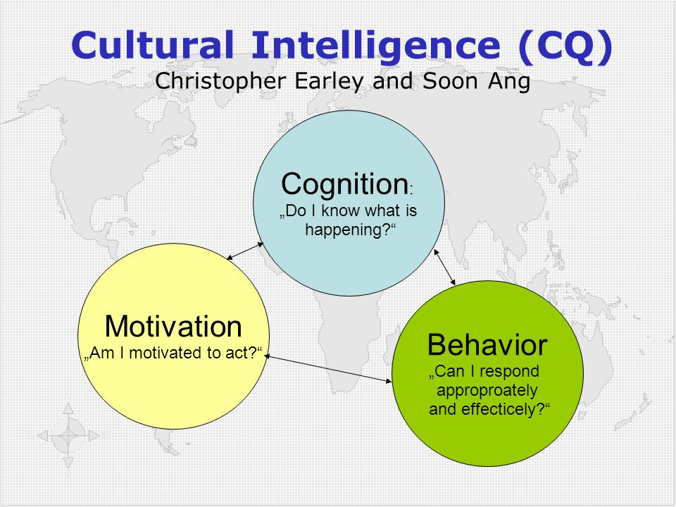 Cultural Intelligence (CQ) Christopher Earley and Soon Ang