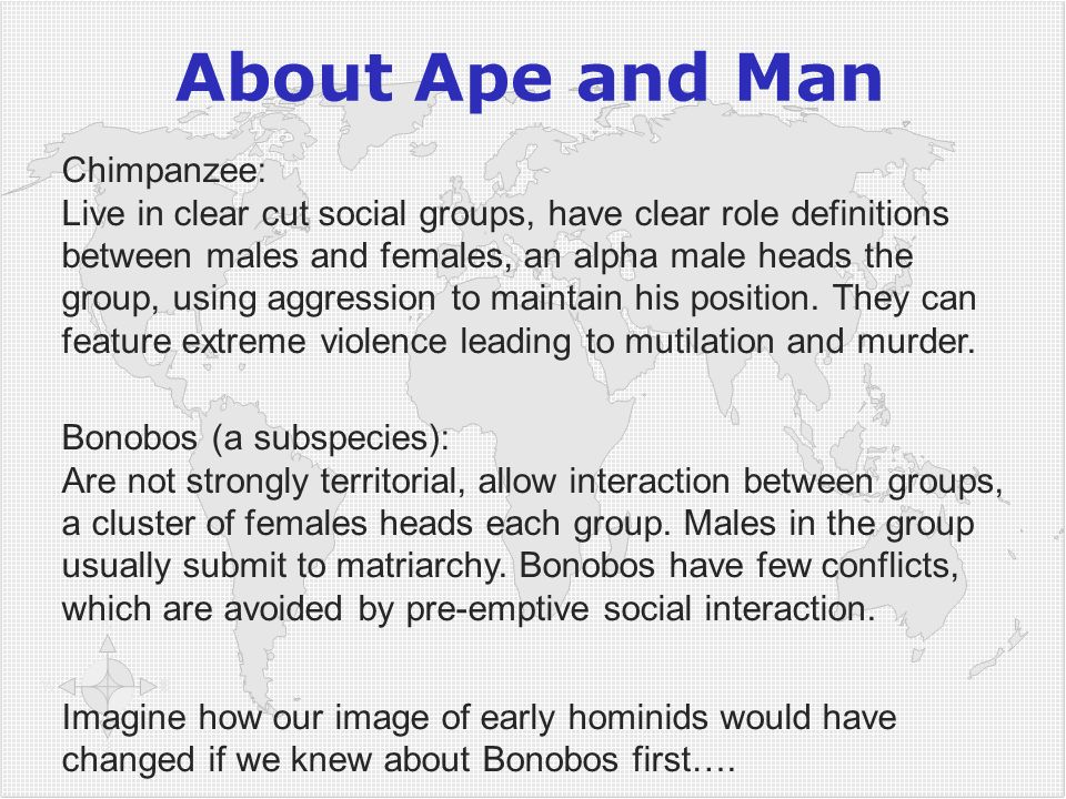 5252 About Ape and Man.