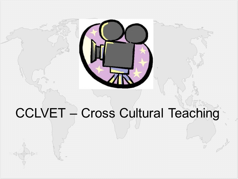 CCLVET – Cross Cultural Teaching