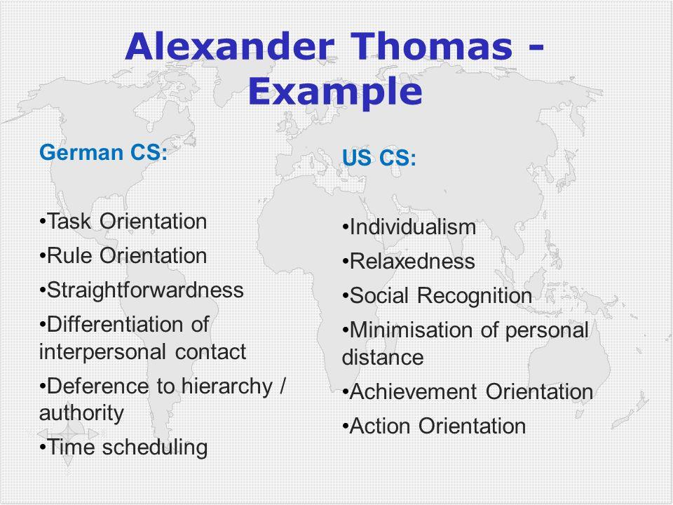 Alexander Thomas - Example