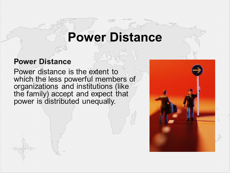 Power Distance Power Distance