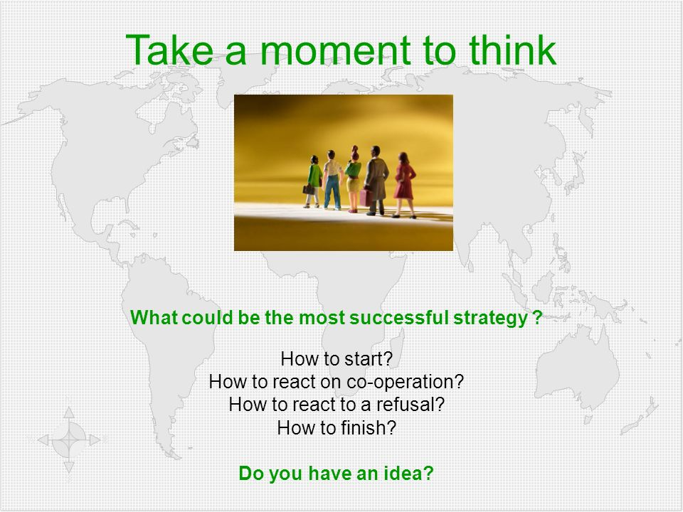What could be the most successful strategy