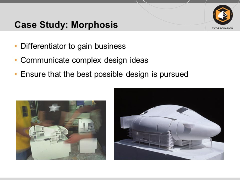 Case Study: Morphosis Differentiator to gain business