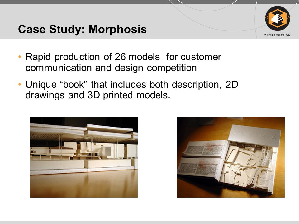 Case Study: Morphosis Rapid production of 26 models for customer communication and design competition.