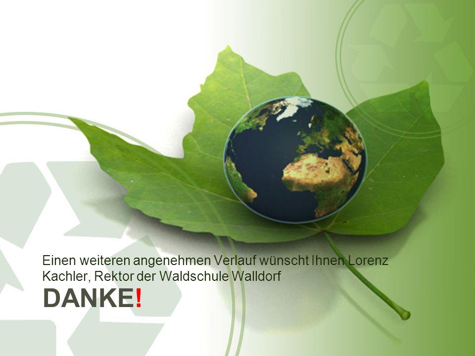 Einen weiteren angenehmen Verlauf wünscht Ihnen Lorenz Kachler, Rektor der Waldschule Walldorf
