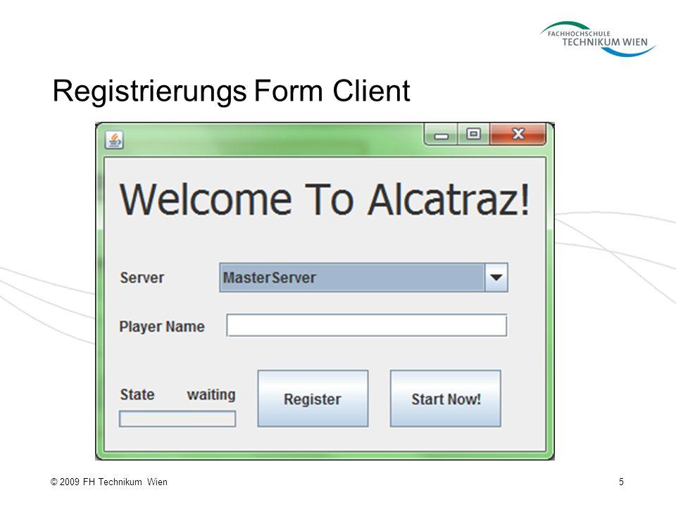 Registrierungs Form Client