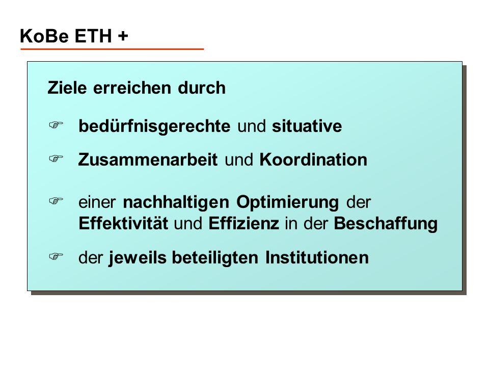 KoBe ETH + Ziele erreichen durch bedürfnisgerechte und situative
