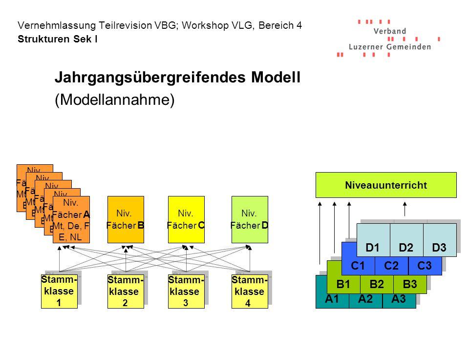 Jahrgangsübergreifendes Modell (Modellannahme)