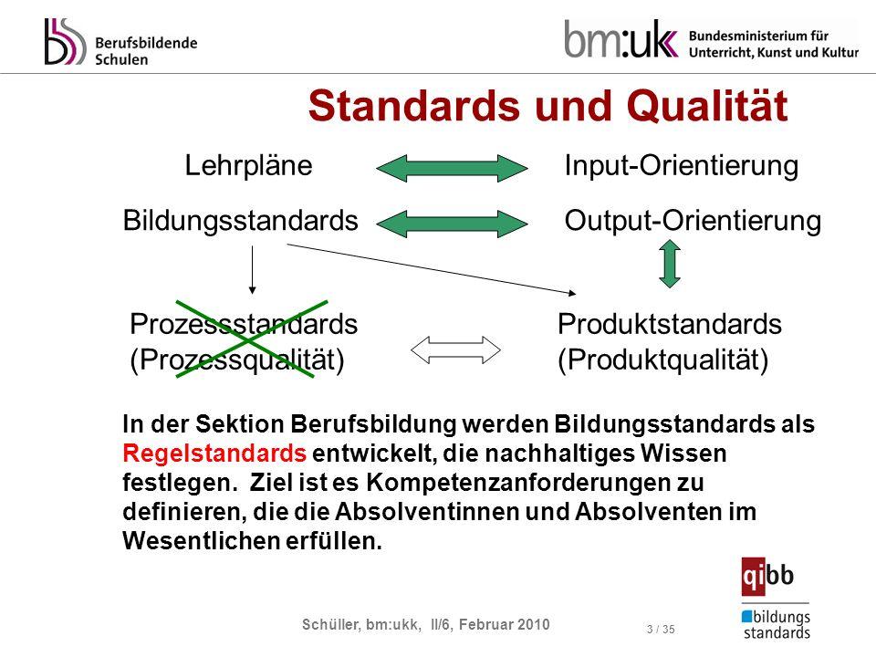 Standards und Qualität