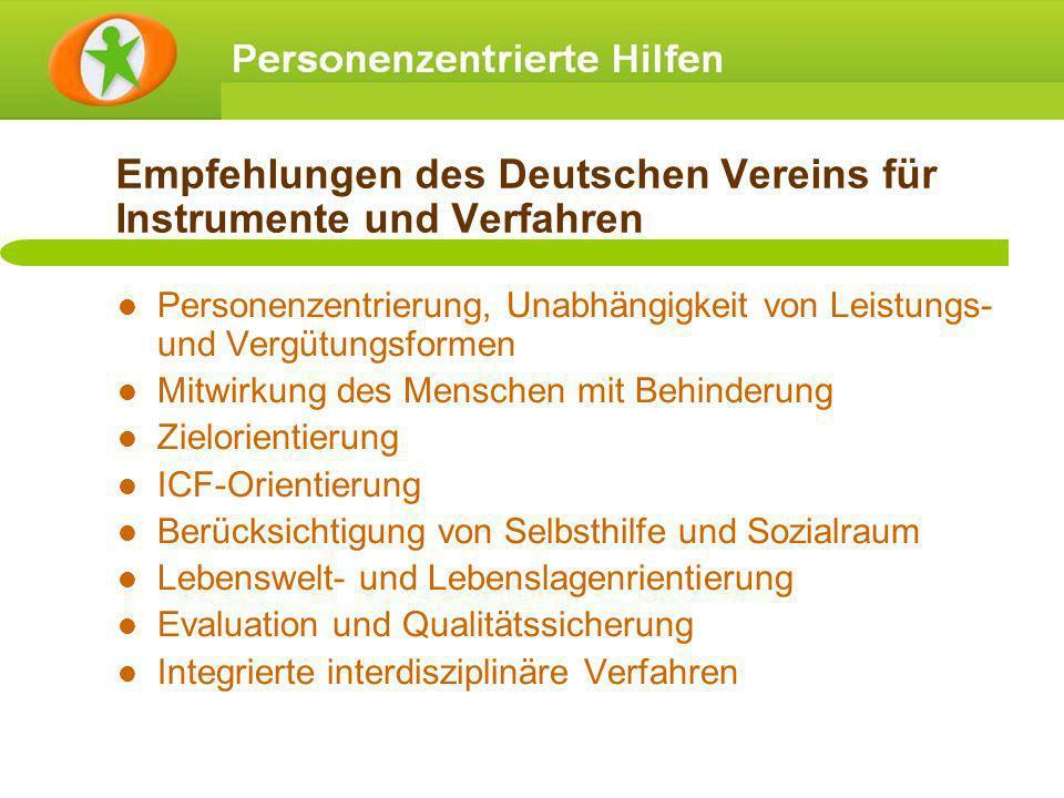 Empfehlungen des Deutschen Vereins für Instrumente und Verfahren