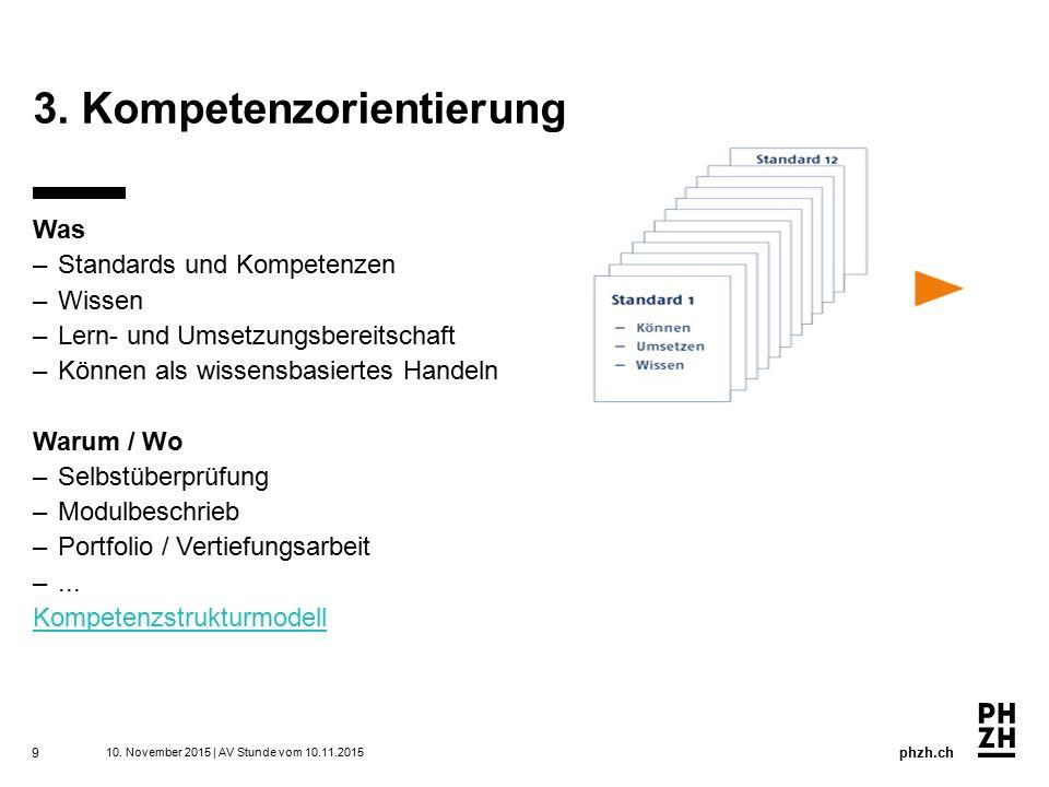 3. Kompetenzorientierung