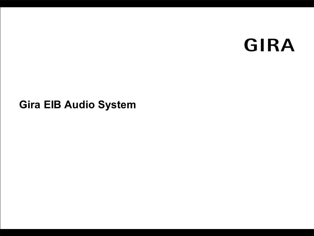 Gira EIB Audio System