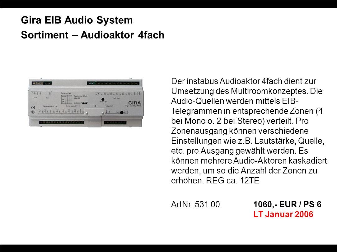 Sortiment – Audioaktor 4fach