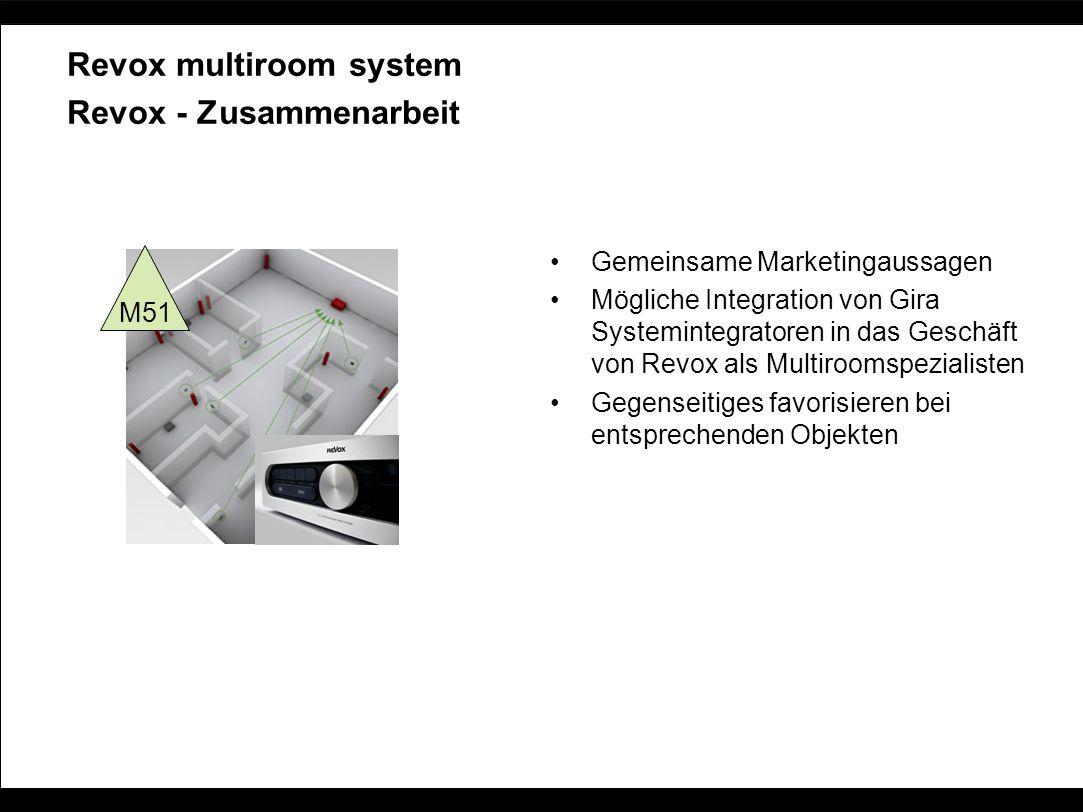 Revox multiroom system Revox - Zusammenarbeit