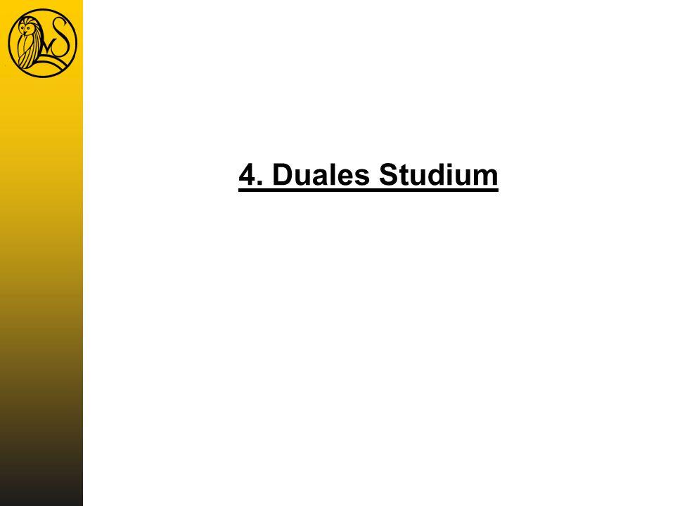 4. Duales Studium