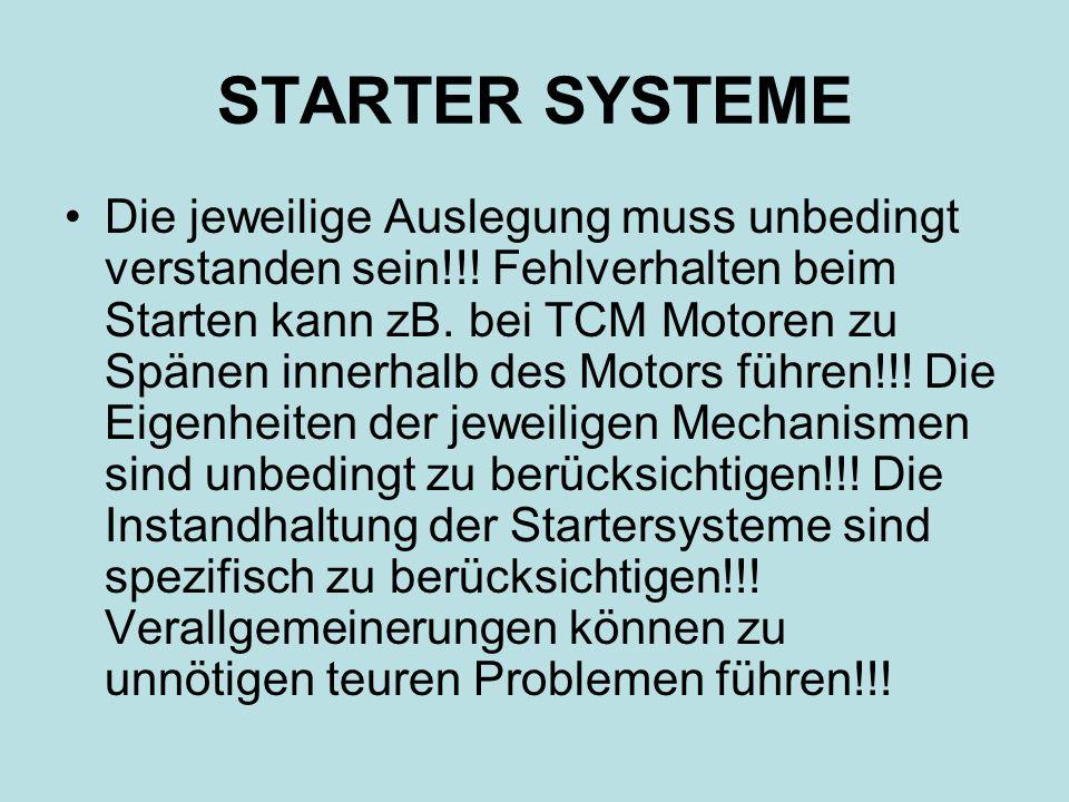 STARTER SYSTEME