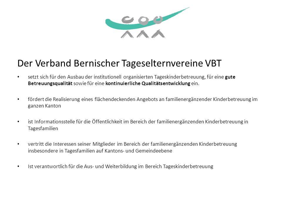 Der Verband Bernischer Tageselternvereine VBT