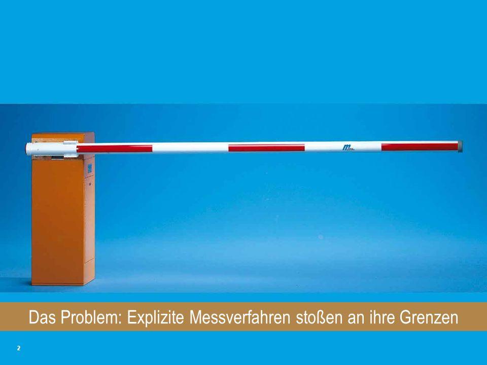 Das Problem: Explizite Messverfahren stoßen an ihre Grenzen