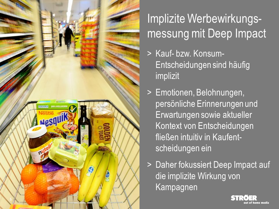 Implizite Werbewirkungs-messung mit Deep Impact