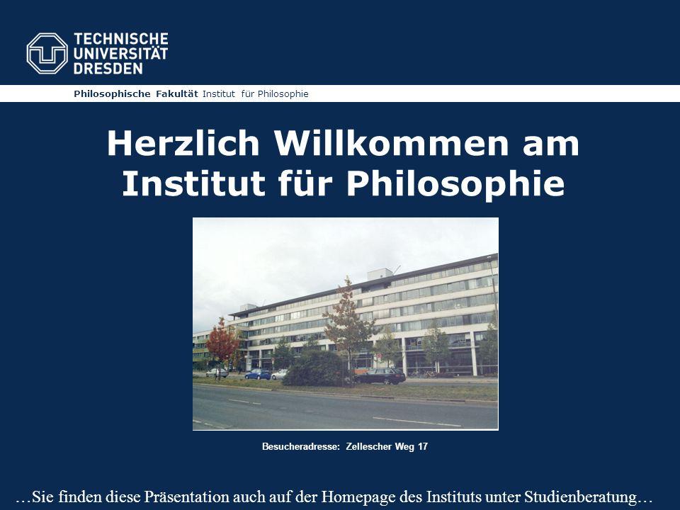 Herzlich Willkommen am Institut für Philosophie