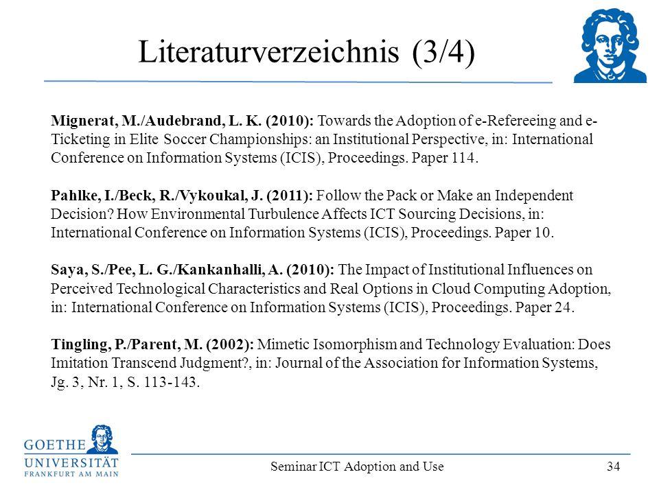 Literaturverzeichnis (3/4)