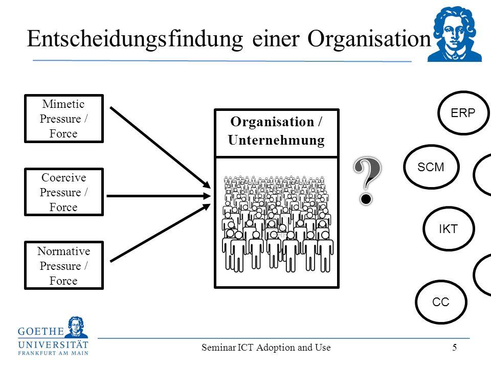 Entscheidungsfindung einer Organisation