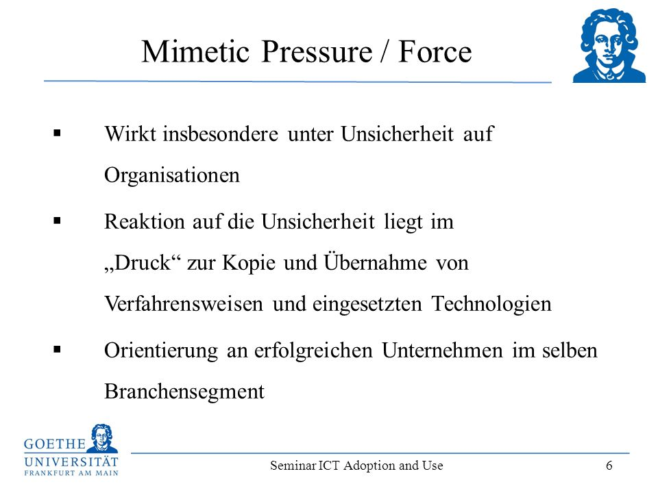 Mimetic Pressure / Force