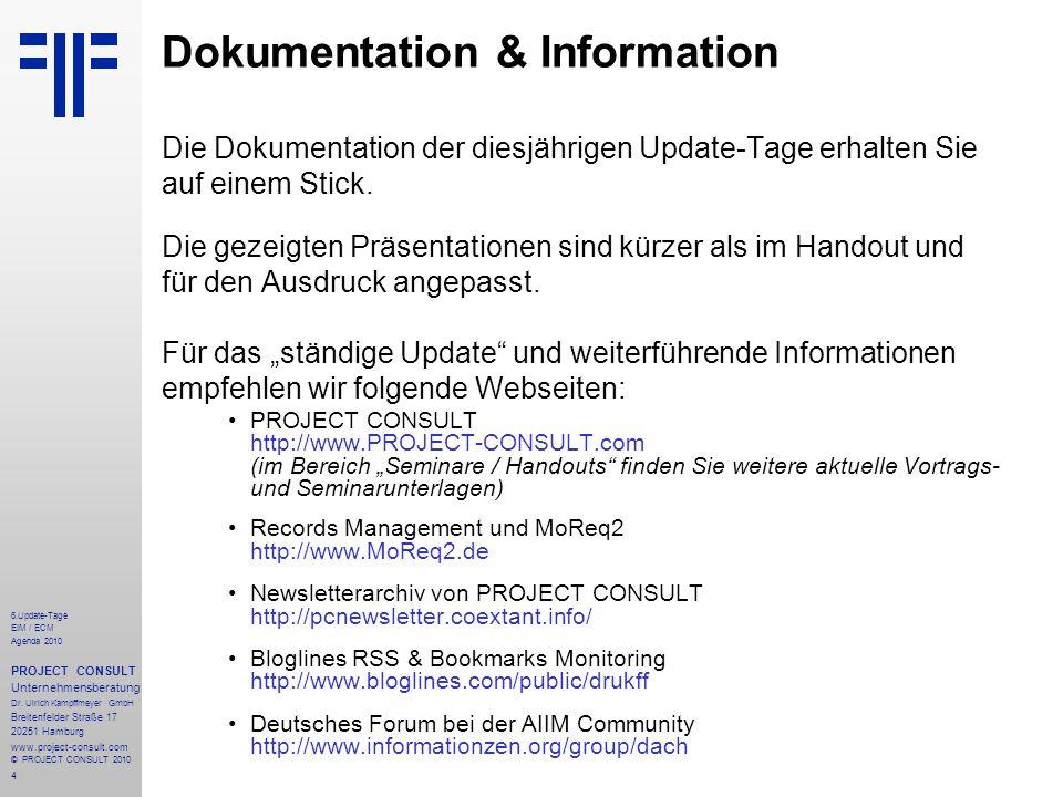 Dokumentation & Information