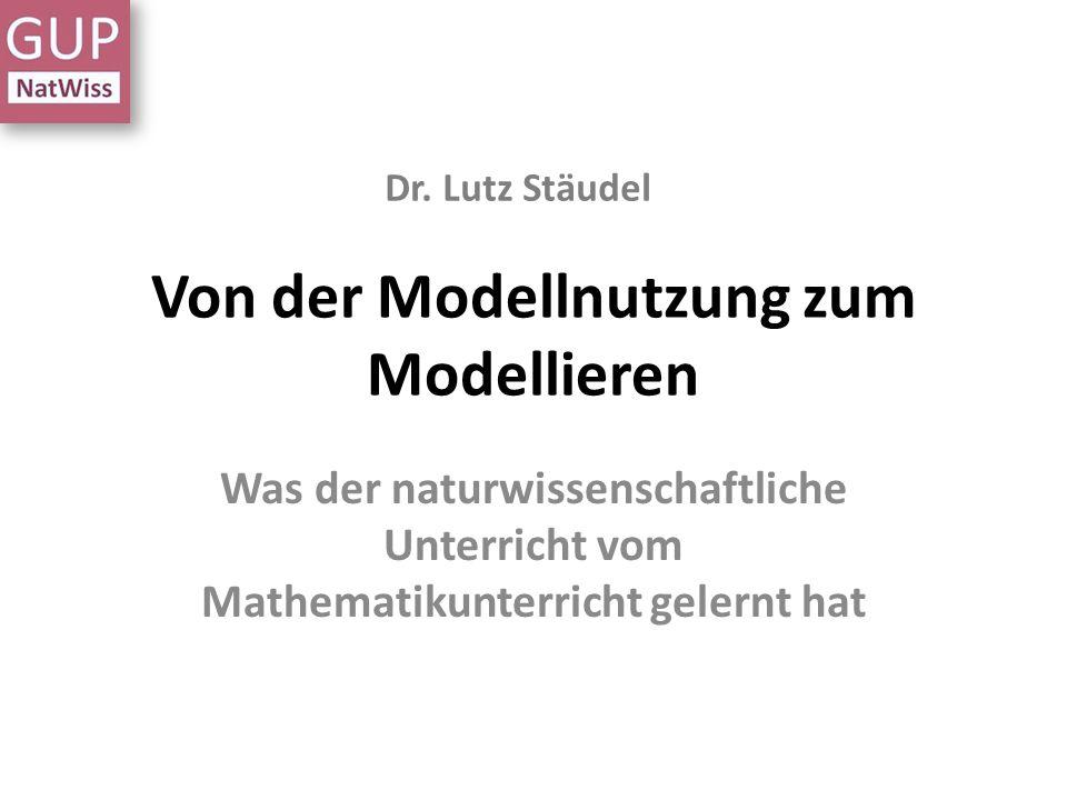 Von der Modellnutzung zum Modellieren