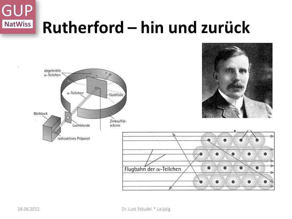 Rutherford – hin und zurück