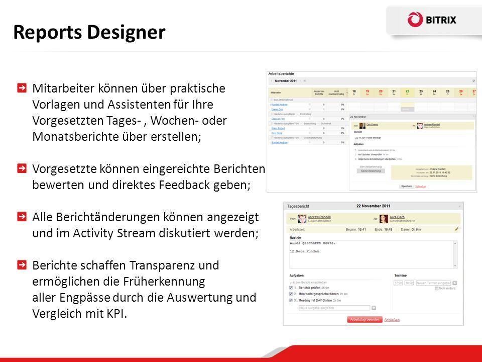 Reports Designer