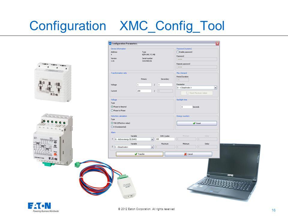 Configuration XMC_Config_Tool