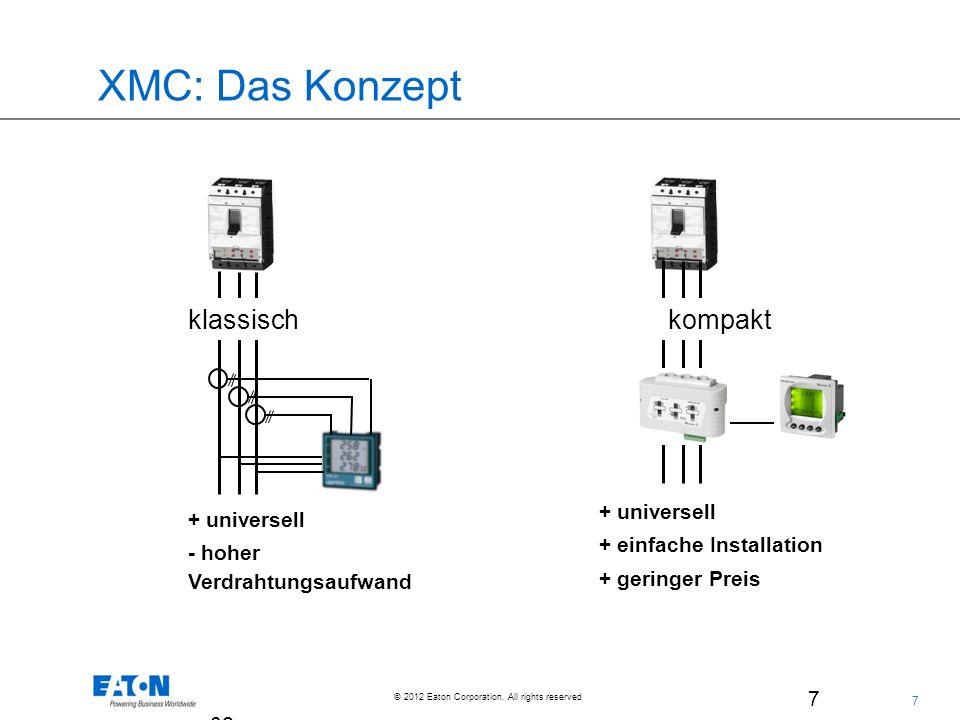 XMC: Das Konzept klassisch kompakt + universell + universell