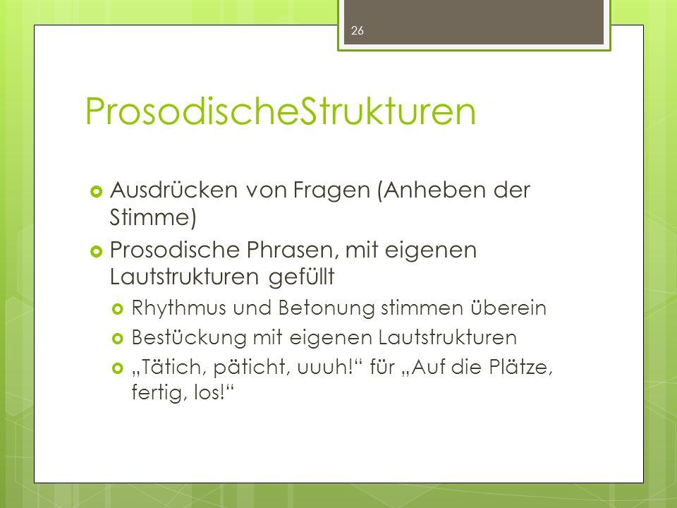 ProsodischeStrukturen