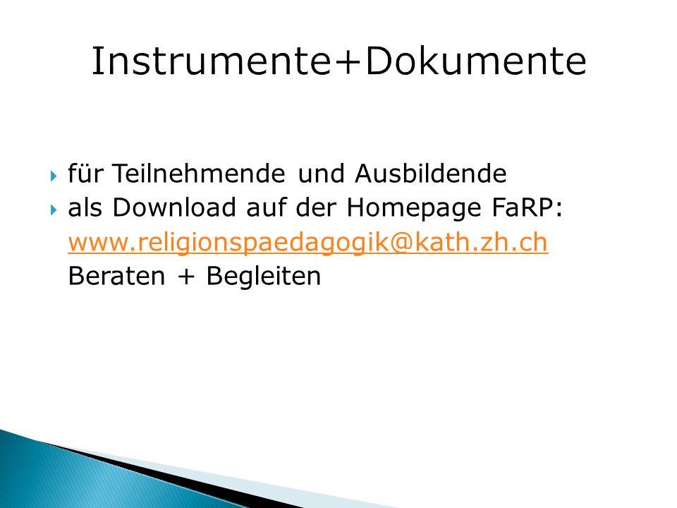Instrumente+Dokumente