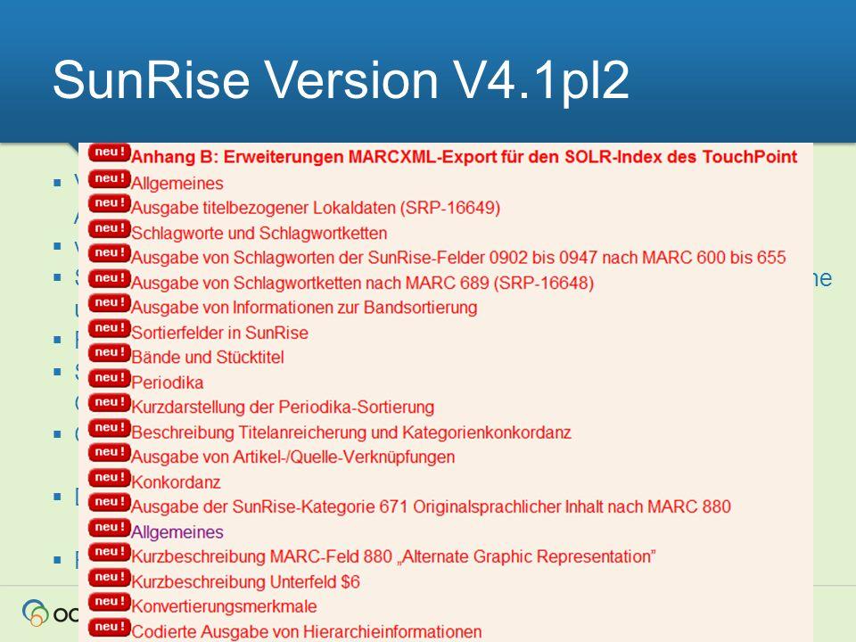 SunRise Version V4.1pl2 Verarbeitung elektron. Rechnungen im EDIFACT-Format in SunRise-Admin und Catserver.