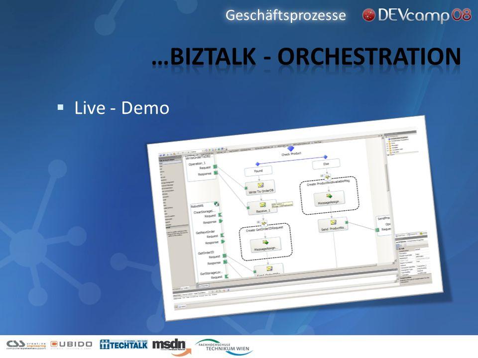 …BizTalk - orchestration