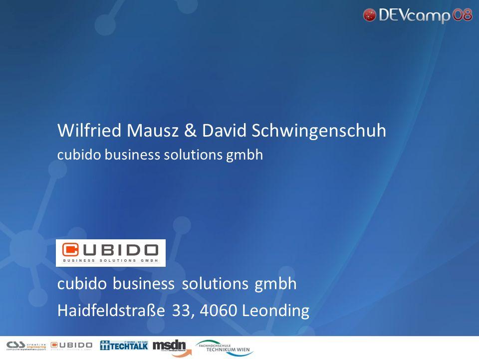 Wilfried Mausz & David Schwingenschuh
