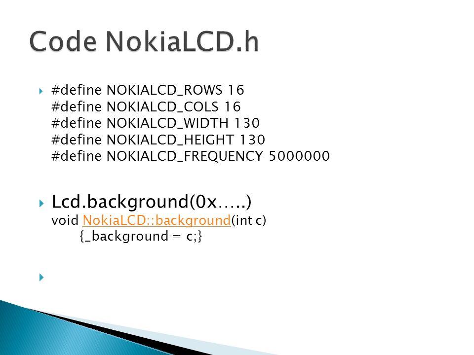 Code NokiaLCD.h