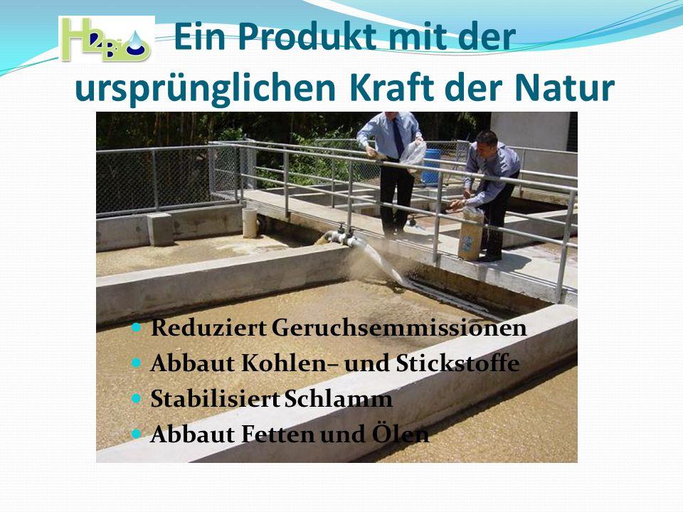 Ein Produkt mit der ursprünglichen Kraft der Natur
